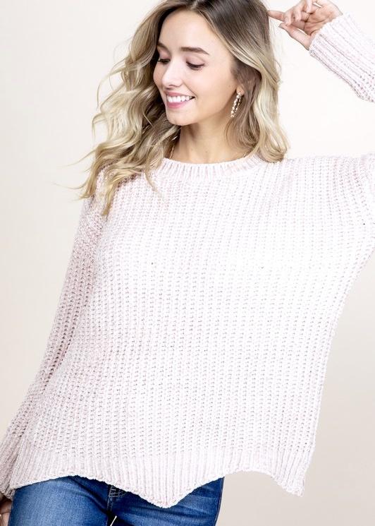 Pearl Chenille Sweater