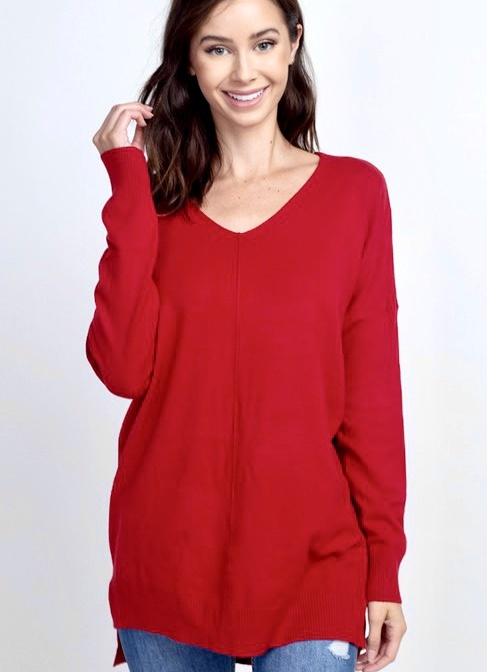 Red Dreamer Sweater