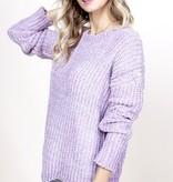 Lavender Chenille Sweater