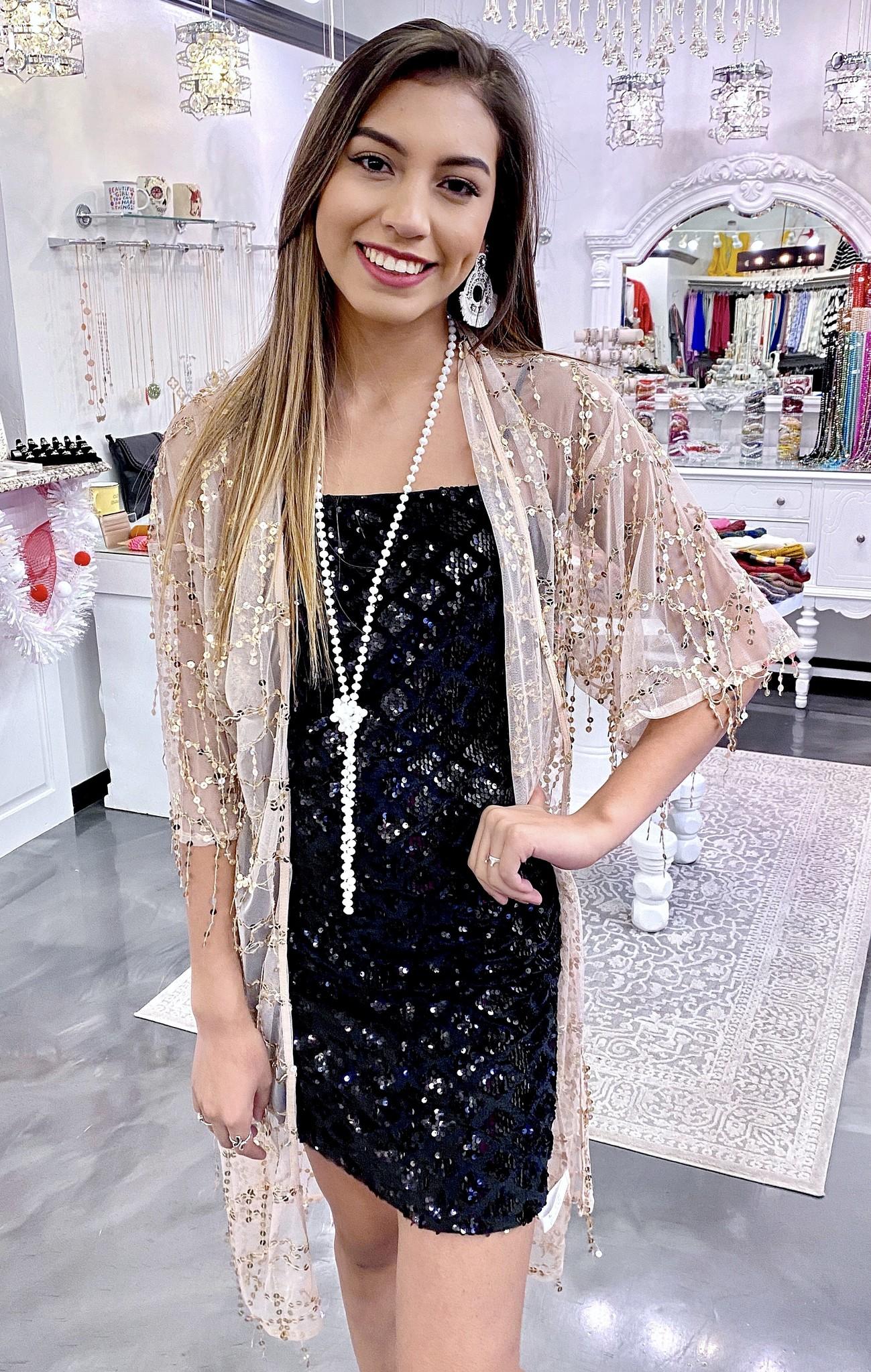 Gold Gypsy Kimono