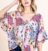 Blush Floral Spring Top