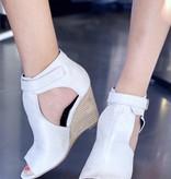 Avery Stone Wedge Sandal