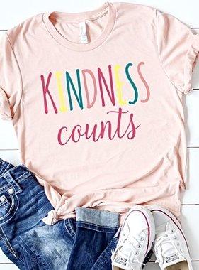 """Kindness Counts"" T-Shirt"