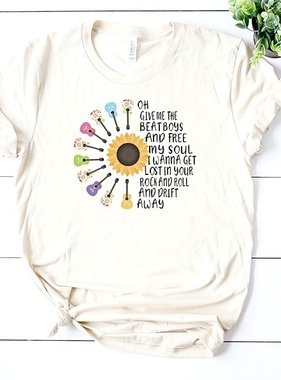 """""""SunFlower Music"""" T-Shirt"""