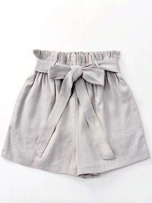 Cloud Ribbon Paperbag Shorts