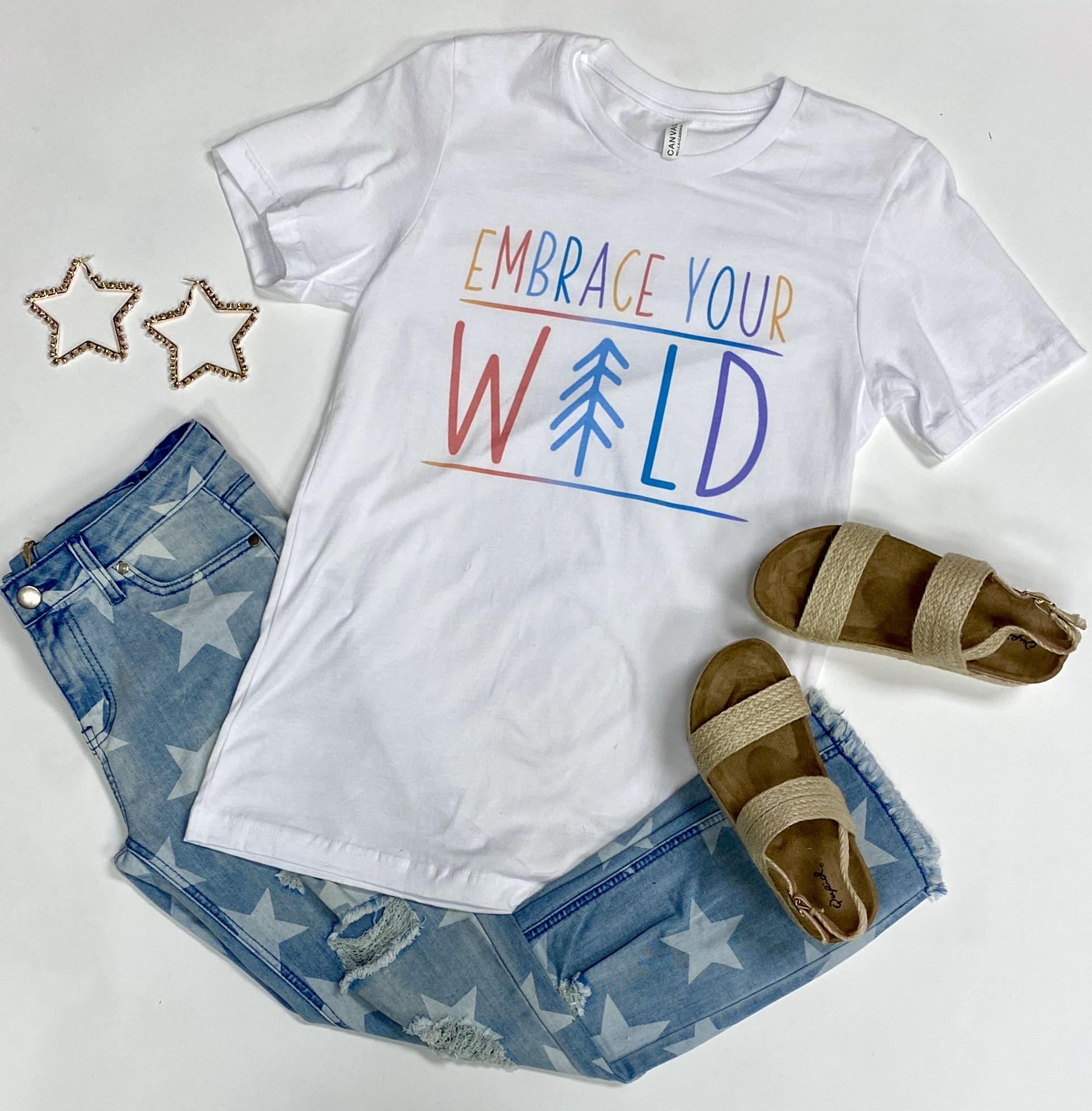 """""""Embrace Your Wild"""" T-shirt"""