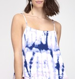 Navy Tie Dyed Cami Top