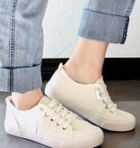 Avery White Low Top Sneaker