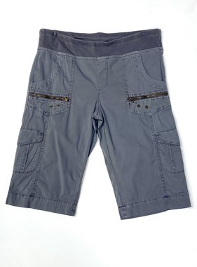 Grey Zola Bermuda Shorts