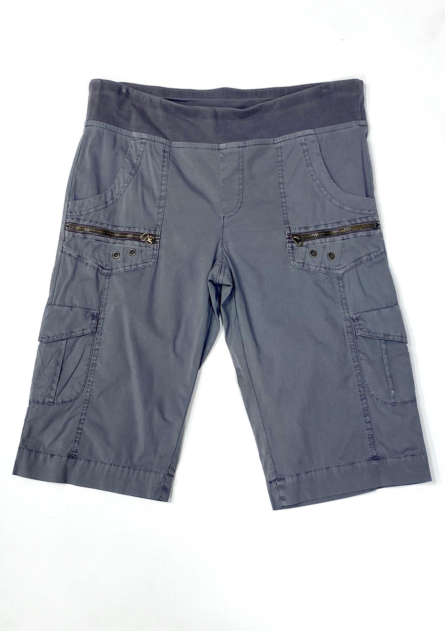 Grey Zola Bermuda Shorts