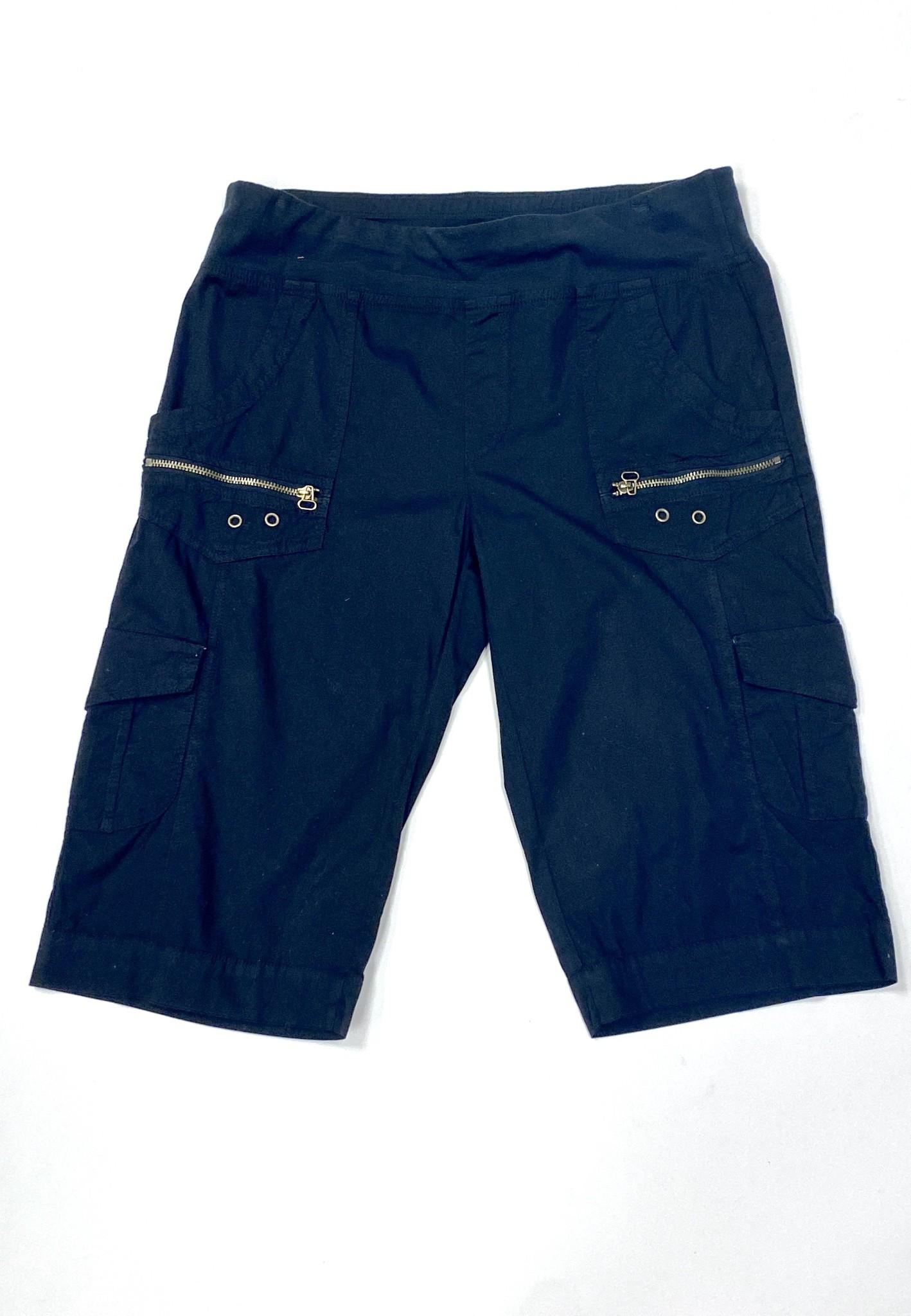 Black Zola Bermuda Shorts