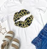 """Leopard Kiss"" T-Shirt"