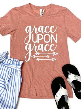 "Heathered Sunset ""Grace"" T-shirt"