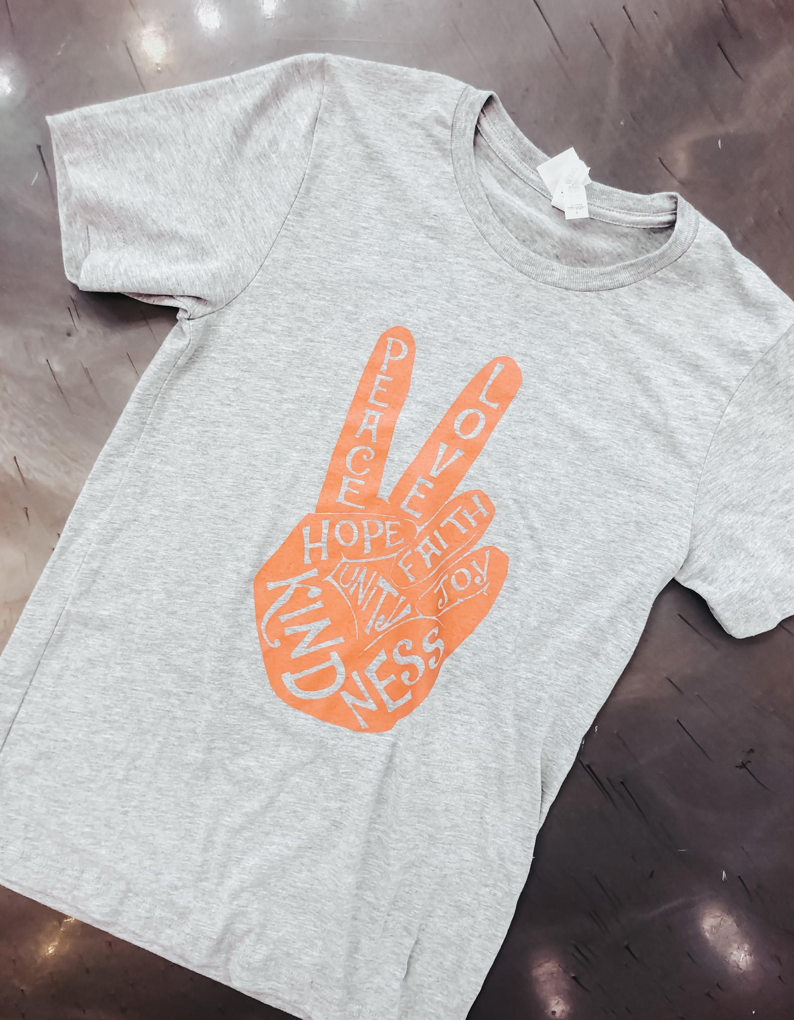 Peace Love & Kindness T-Shirt