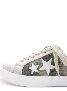 Camo/Star Sneaker