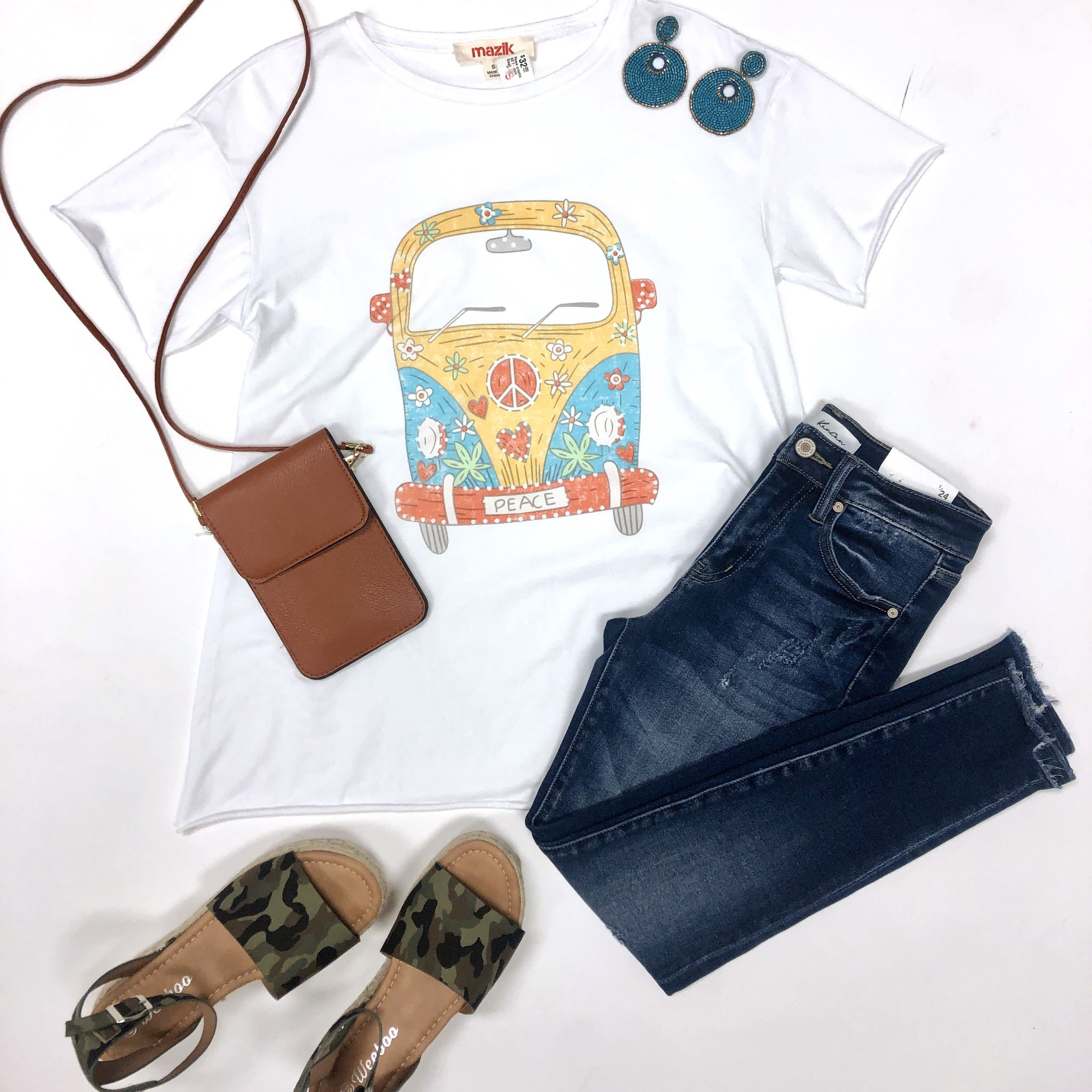 Peace graphic SS T-shirt
