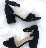 Whitney Black Block Heel