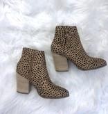 Sadie Cheetah Tassle Bootie