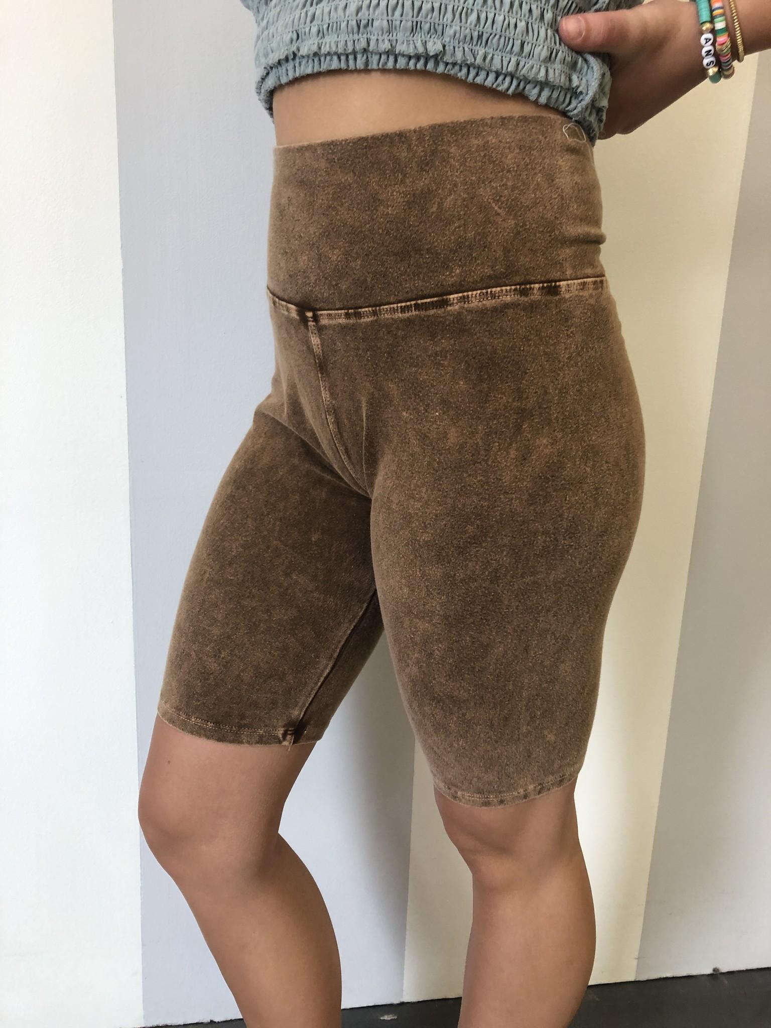 Camel Biker Shorts