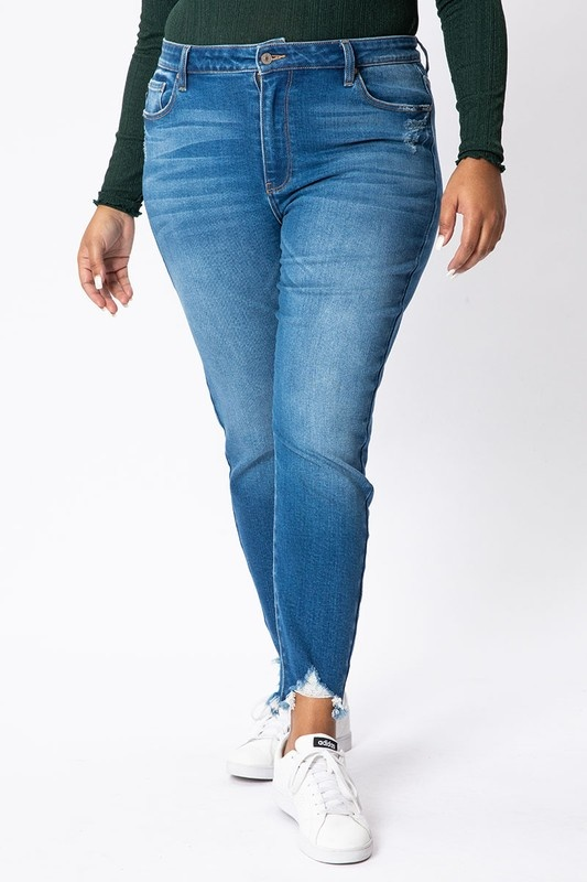 KanCan Med. Wash Skinny Plus Jeans