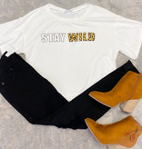 Stay Wild Cropped Tee