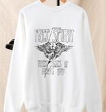 Free Spirit eagle graphic sweatshirt