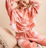 Light Pink Tie Dye Joggers