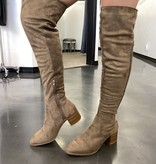 Kat Taupe Knee High Boots