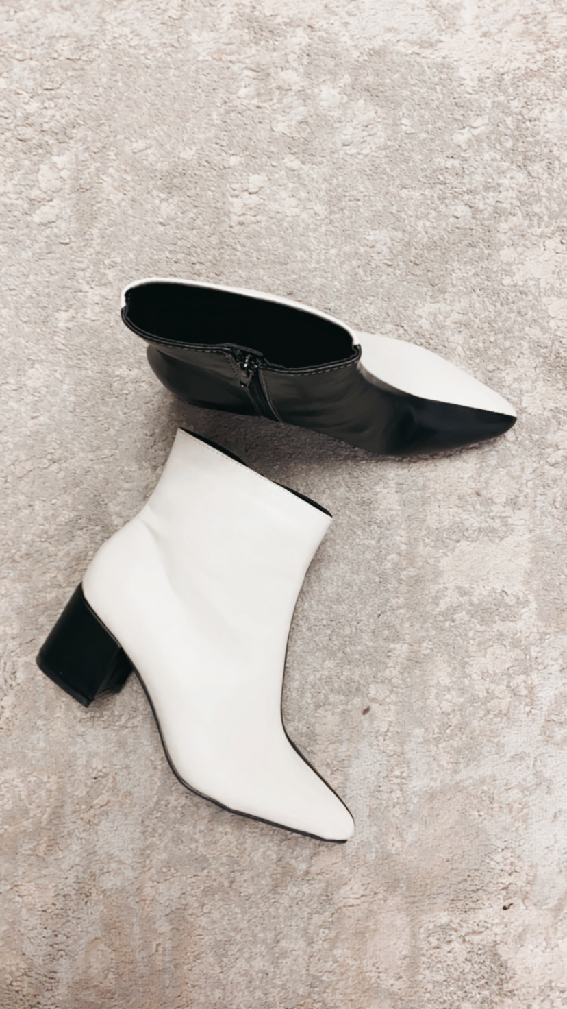 Ivy Color Blocked Bootie