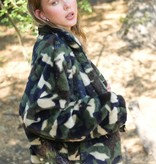 Bundle Me Up Camo Print Coat