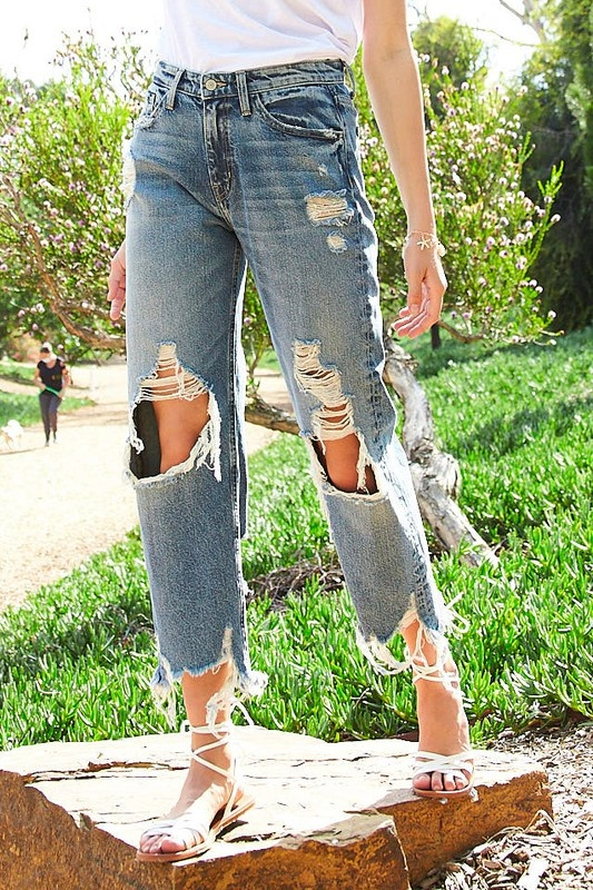 Letting Go Flying Monkey Straight Jeans