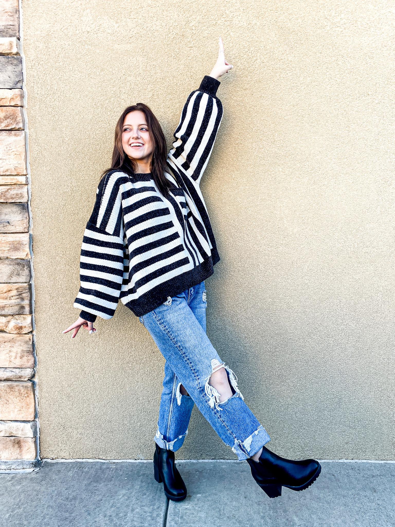 Never Ending Joy Chenille Sweater