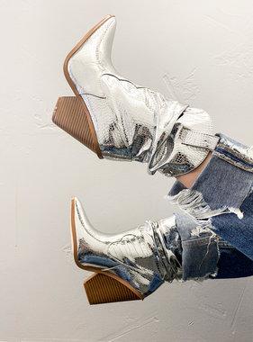 Kacey Silver Cowboy Boot