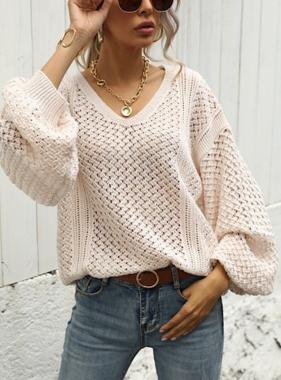 Never Ending Love Blush Knitted Sweater