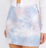 Lt. Blue Tie Dye Skirt