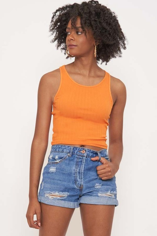 Never Been Basic Crop Tank Top (MORE COLORS)