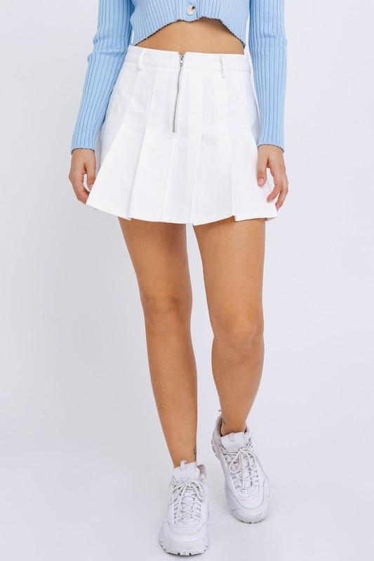 You Rang For Me White Skirt