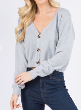 Never Been Lady Like Cardigan (MORE COLORS)