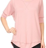 Let's Cuddle 3/4 Sleeve Top
