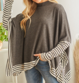 Believe In Me Poncho Top