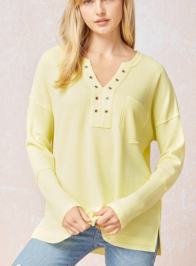 Call Me Maybe Henley Tops (MORE COLORS)