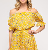 Dance In The Rain Sunflower Top