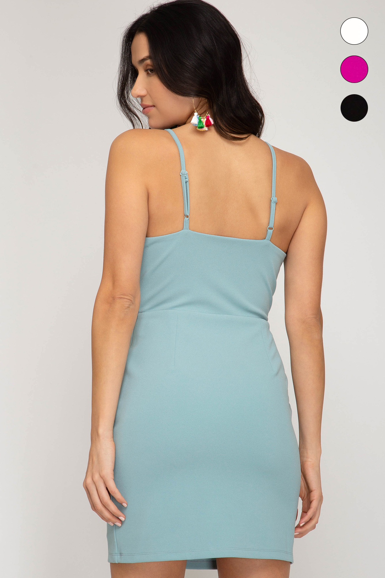 I Dream Of Spring Seafoam Dress