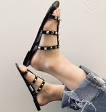 Joanie Studded Three Strap Sandal (MORE COLORS)