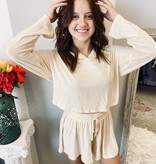 Praying for Spring Ivory Longe short