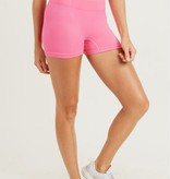 Ribbed & Smooth Highwaist Short Shorts (MORE COLORS)