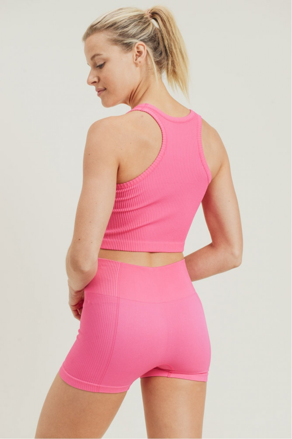 Ribbed and Ready Racerback Workout Tank (MORE COLORS)