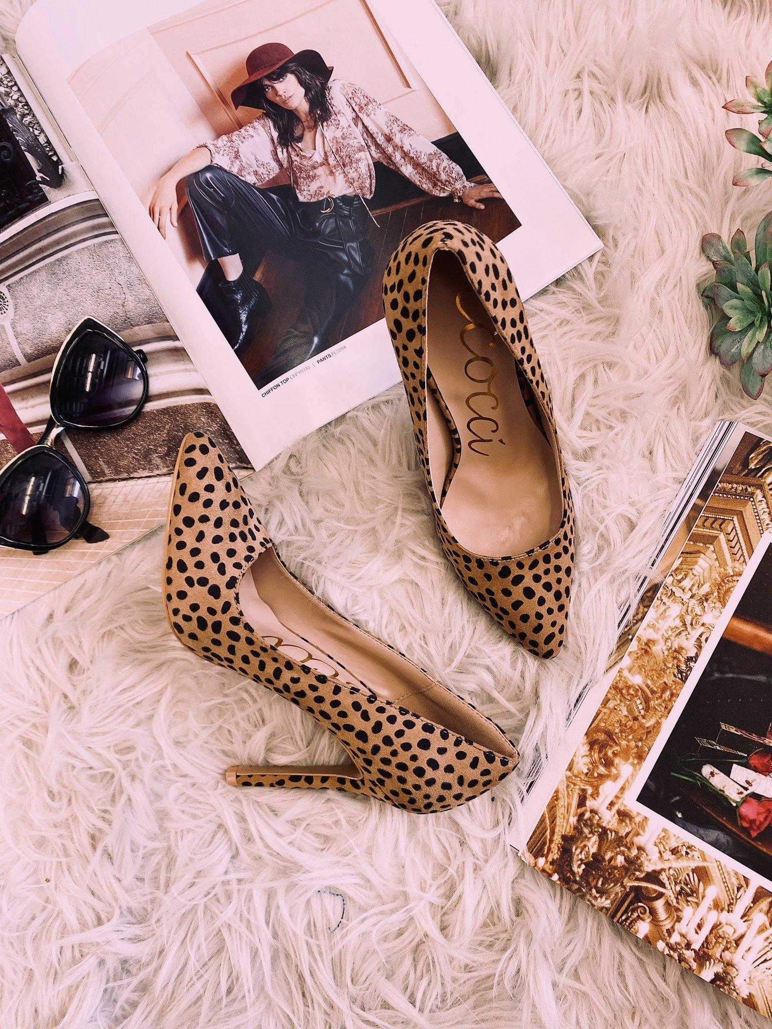 Ari Simple Pump Cheetah