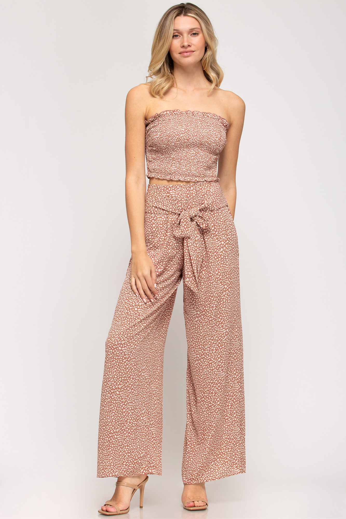 Animal Print Palazzo Pants (MORE COLORS)