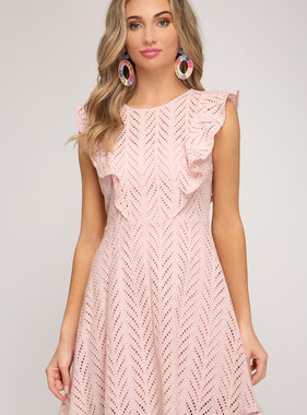 Be My Plus One Rose Dress